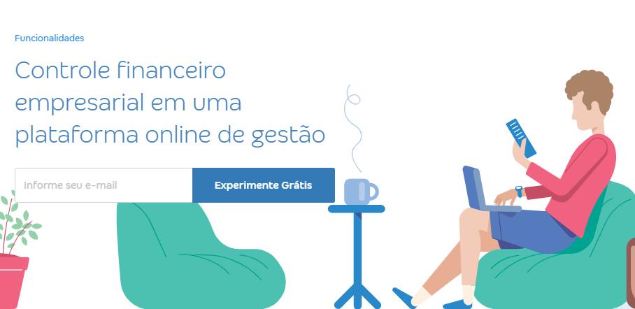 Conta Azul landing page