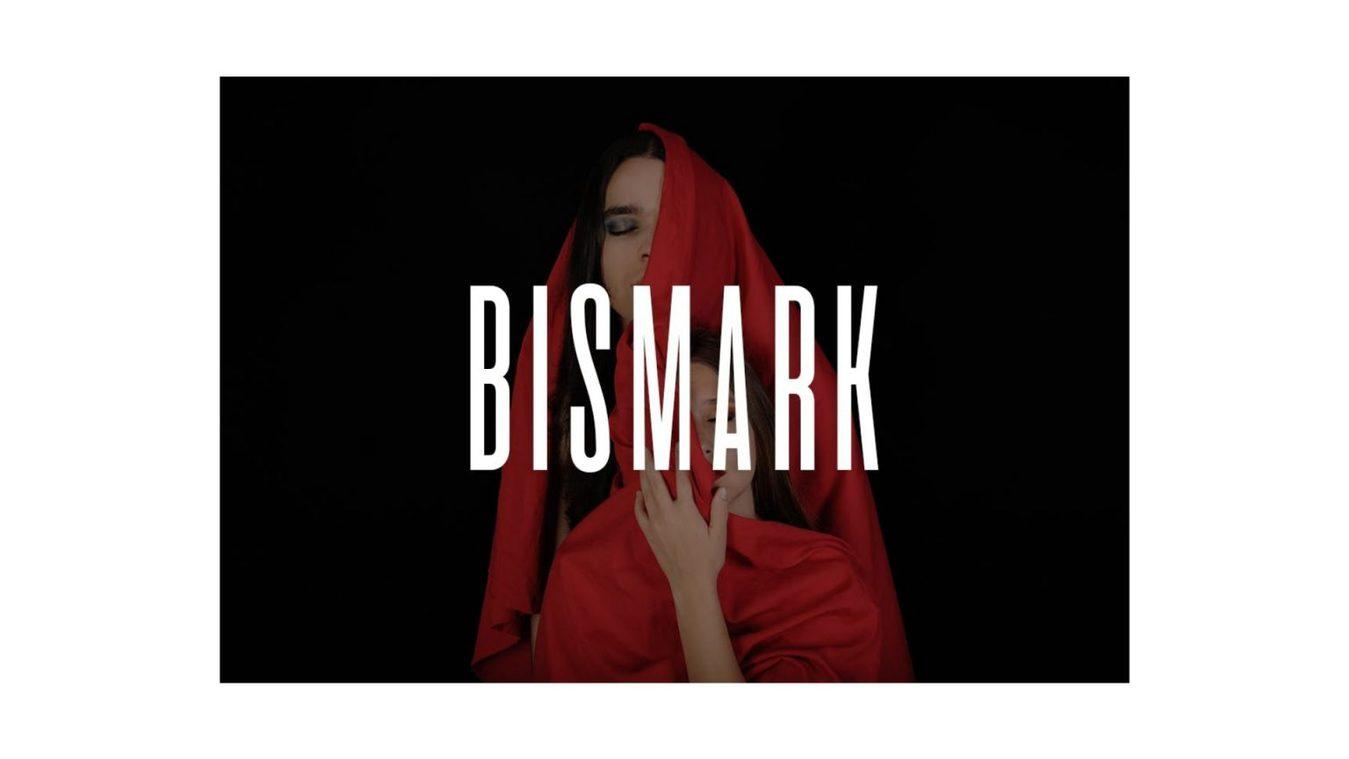 Bismark font example