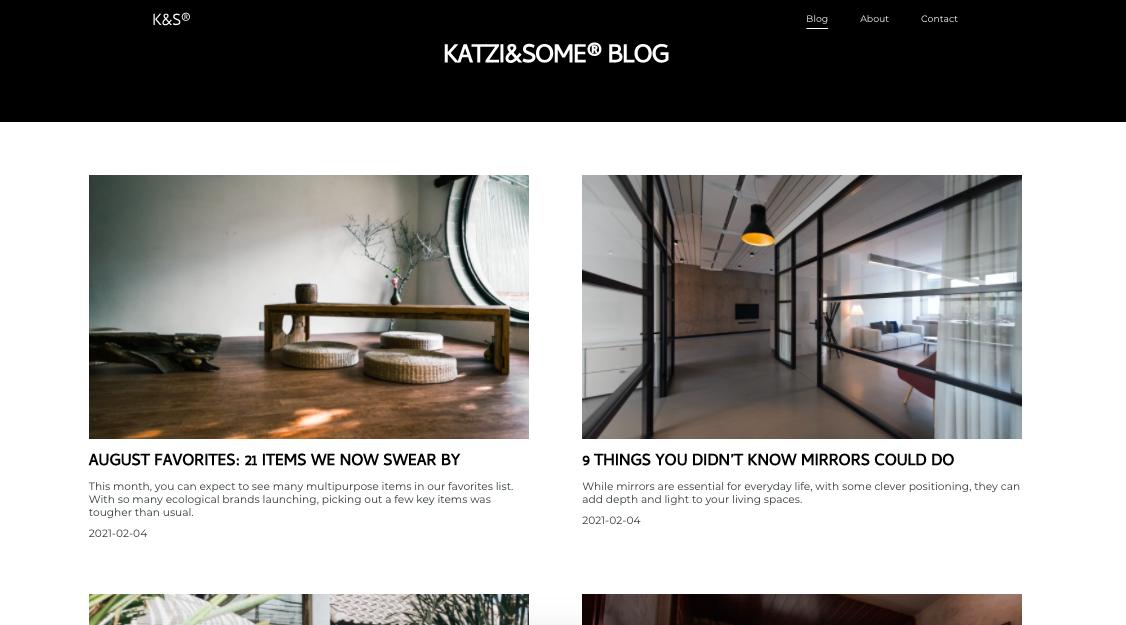 các loại website blog cá nhân