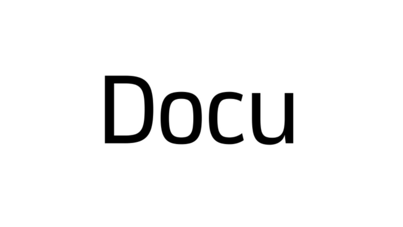Docu font example