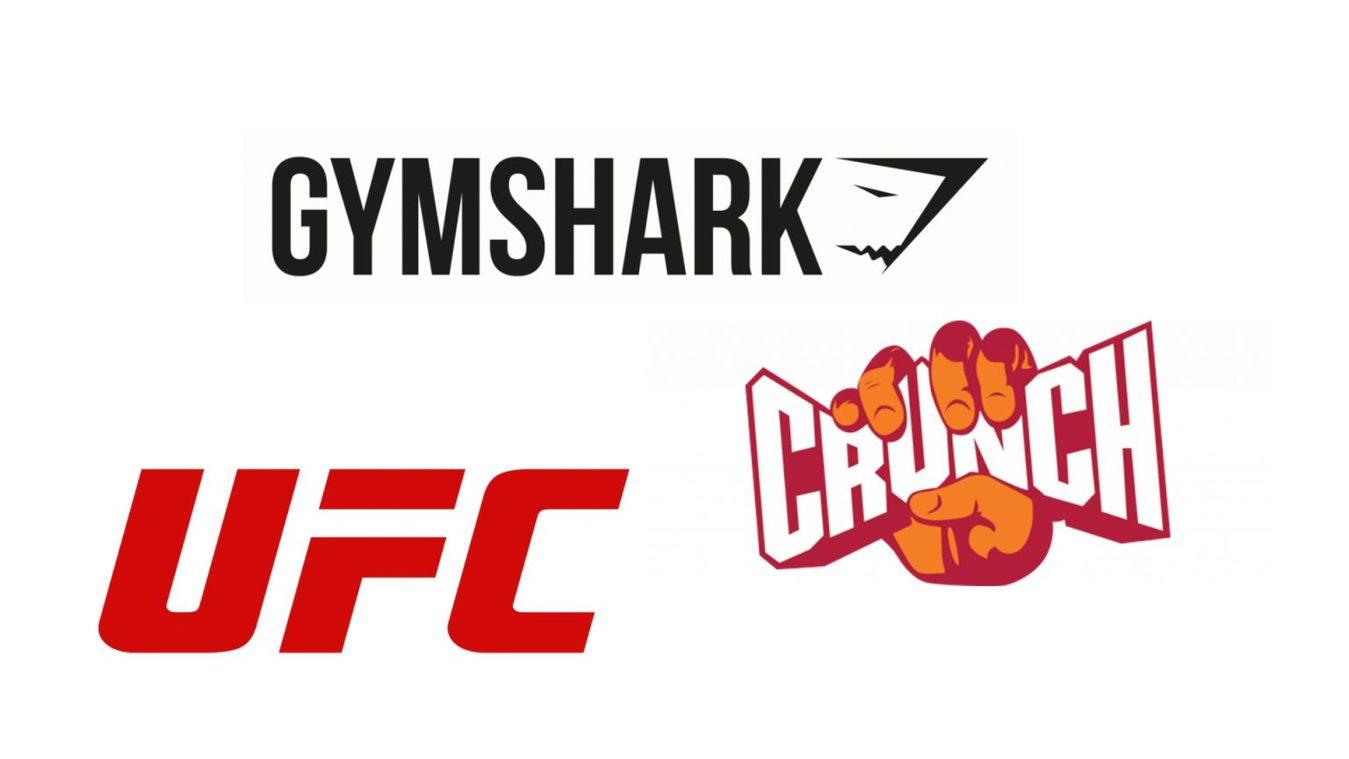 Fitness company logos
