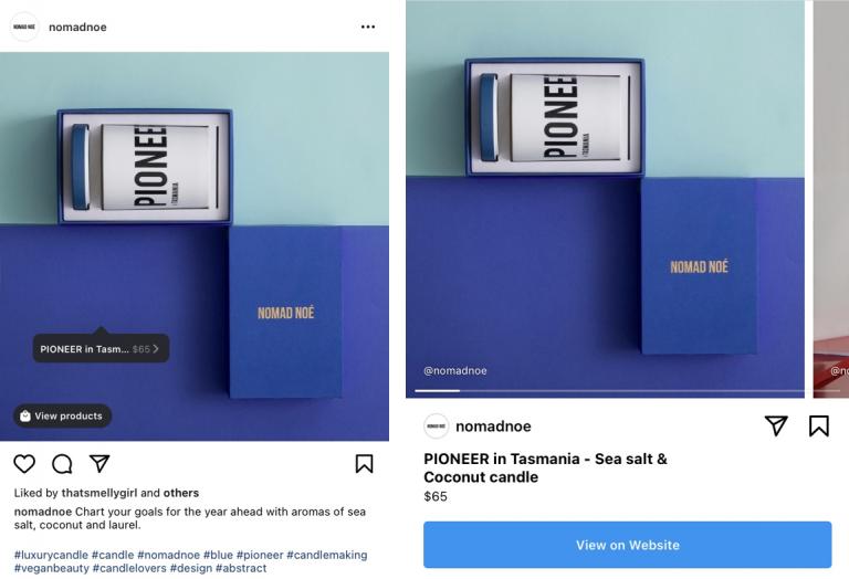 Fitur tag produk di Instagram