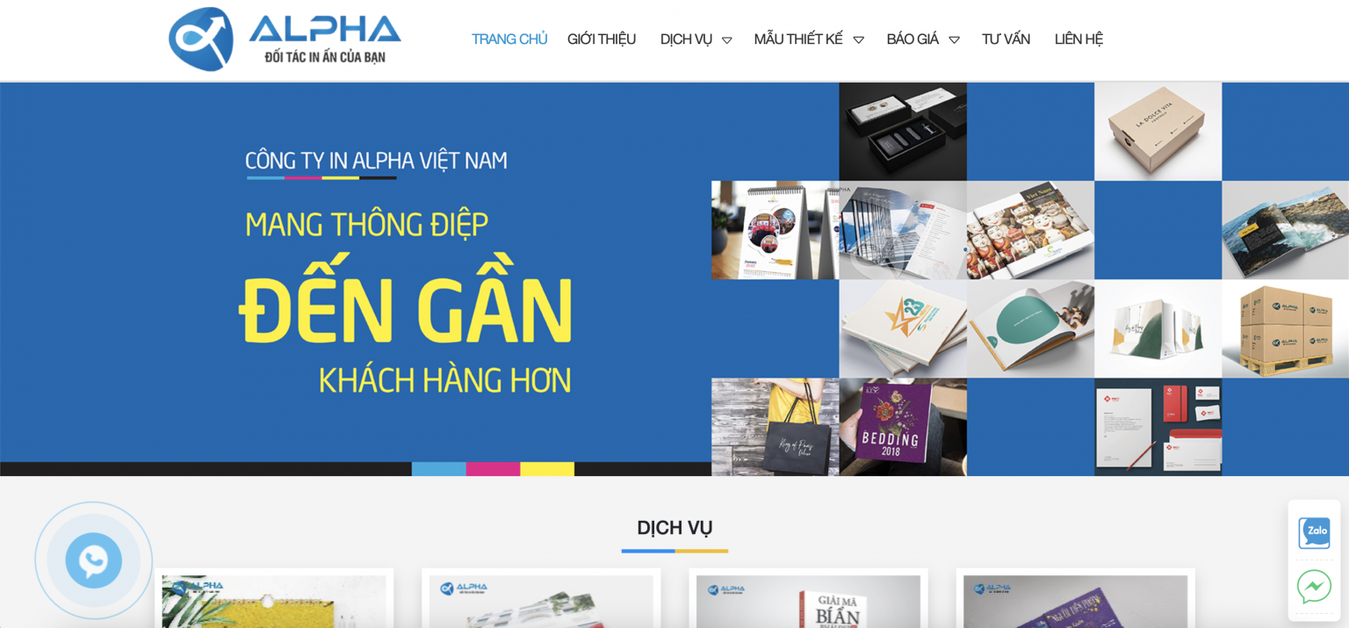 công ty in ấn In Alpha