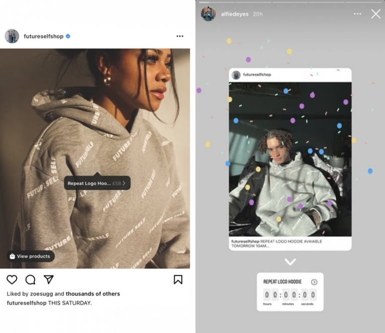 Countdown launching di Instagram