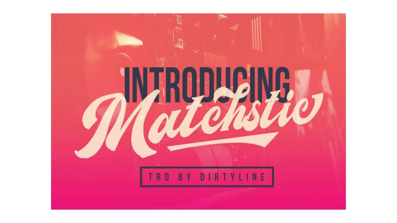 Matchstic font example