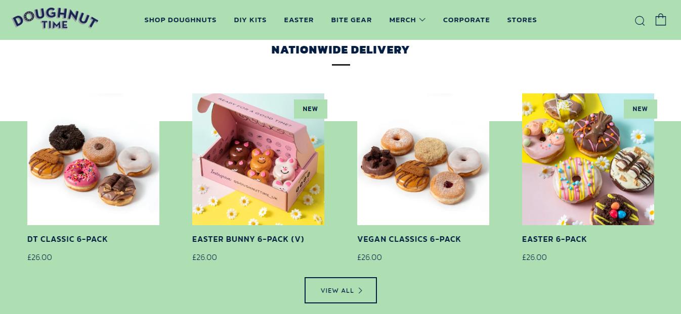 Prodotti in evidenza di Doughnut Time