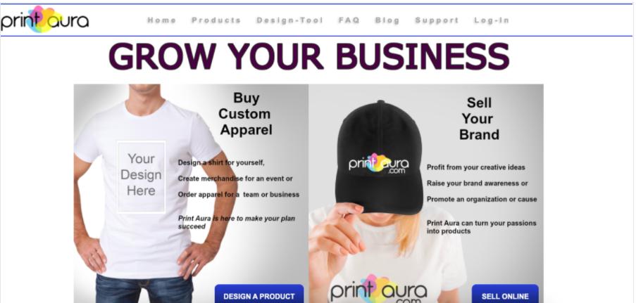 Screenshot Print Aura