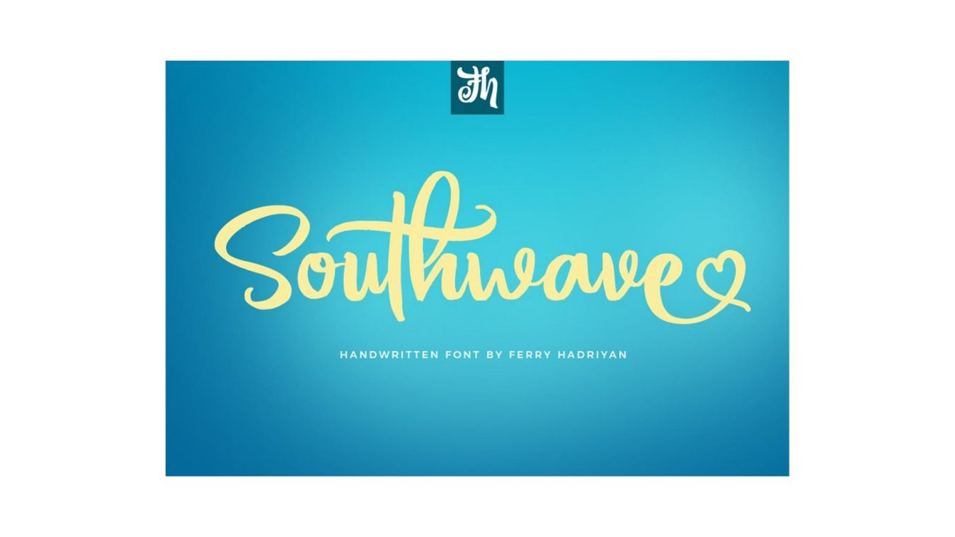 Southwave font example