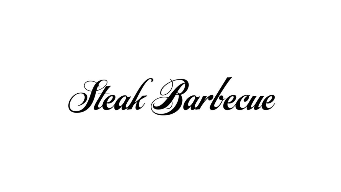 Steak font example