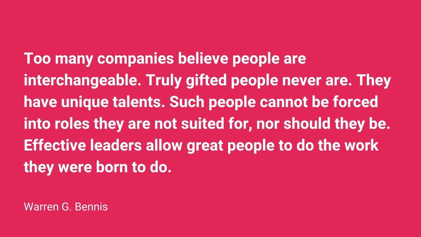 Warren G Bennis quote
