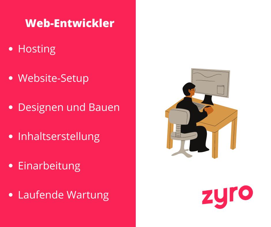 Webentwicklung Wichtiges
