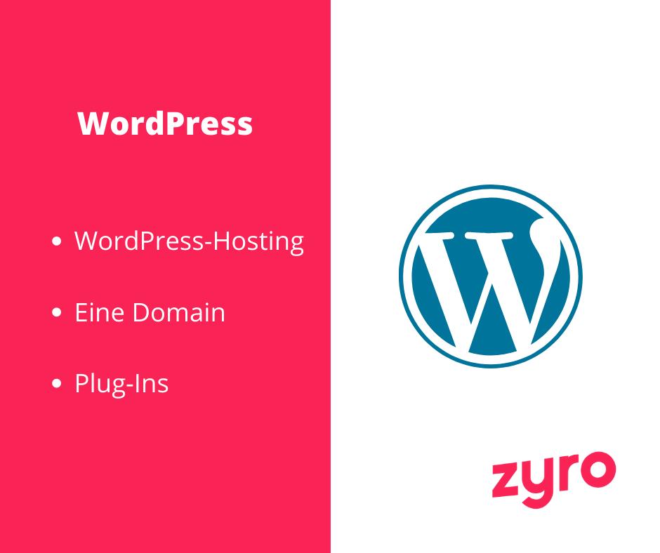 WordPress wichtige Elemente