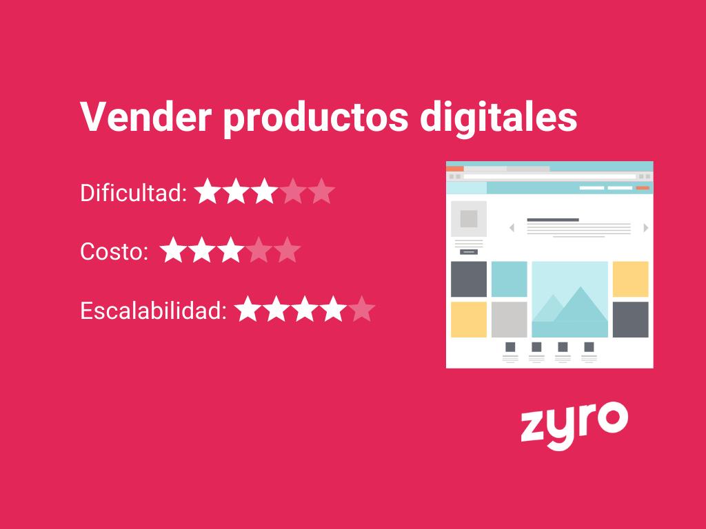 venta de productos digitales