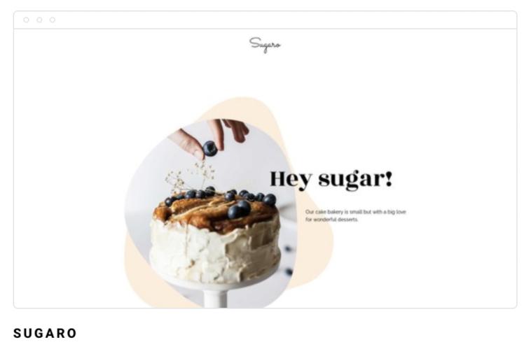 Template de site Sugaro