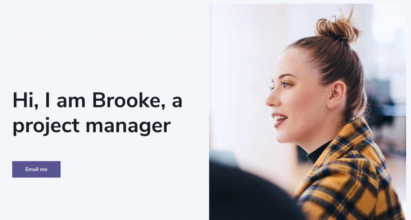 Brooke home page