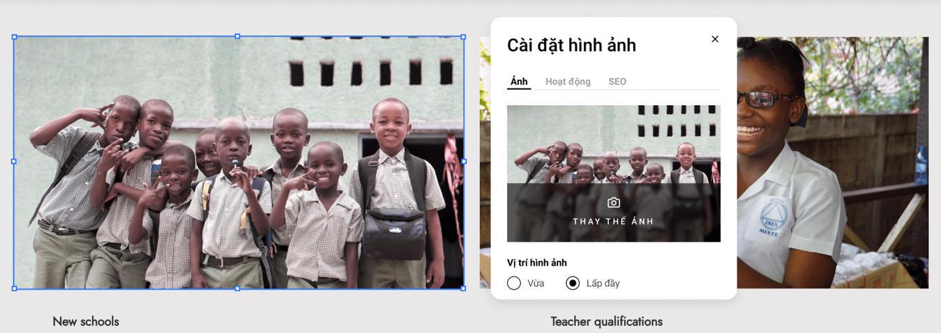 cách tạo website chèn hình ảnh