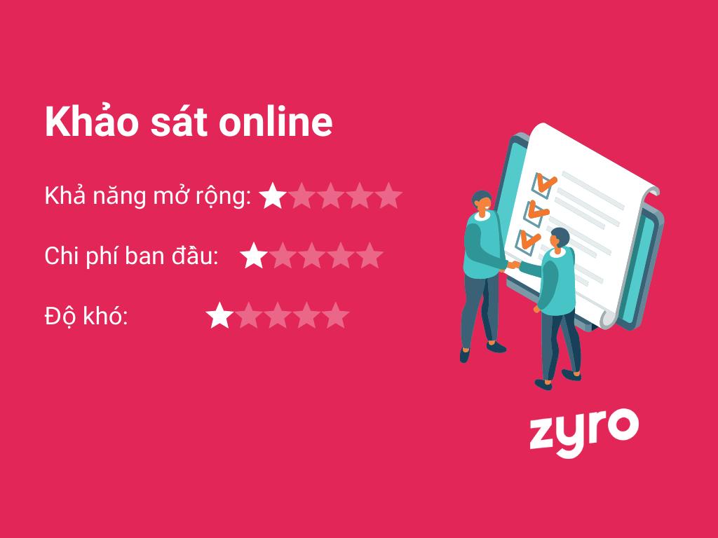 khảo sát online để kiếm tiền trên mạng