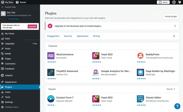 Plugins do WordPress