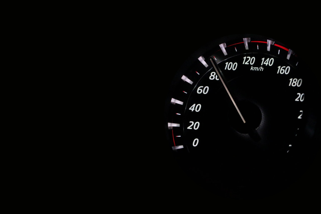 Car speed gauge