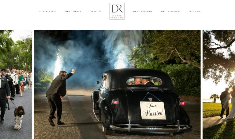 Homepage di Denis Reggie