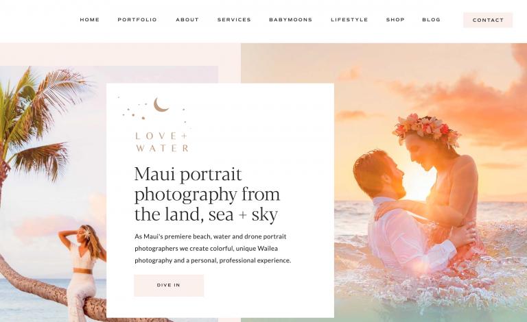 Homepage di Love Water