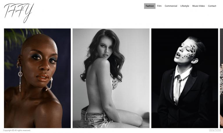 Homepage di Tffy
