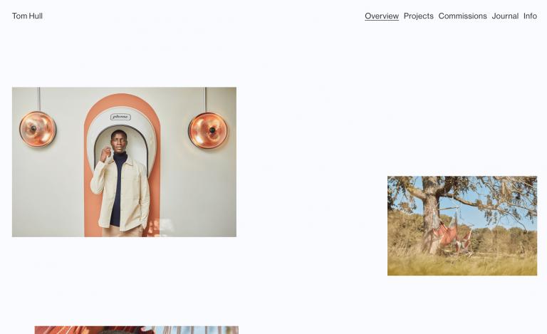Homepage di Tom Hull