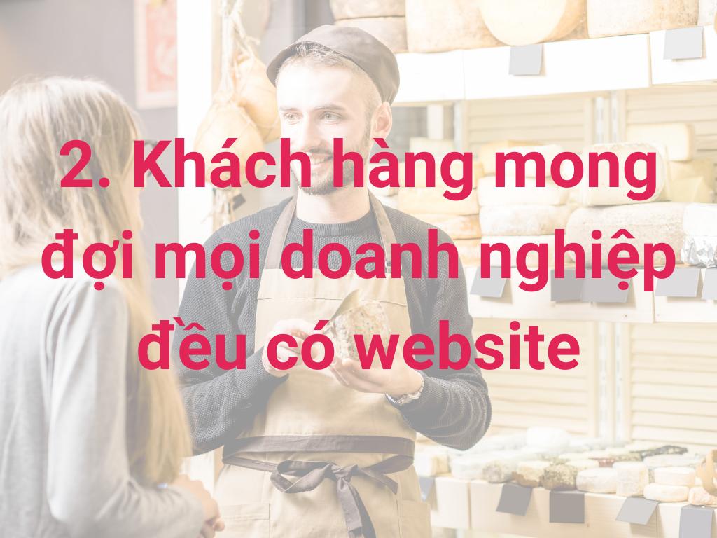 tại sao doanh nghiệp nhỏ cần có website