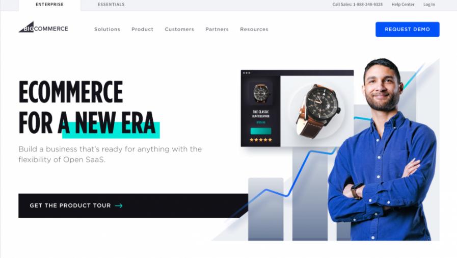 Landing page BigCommerce