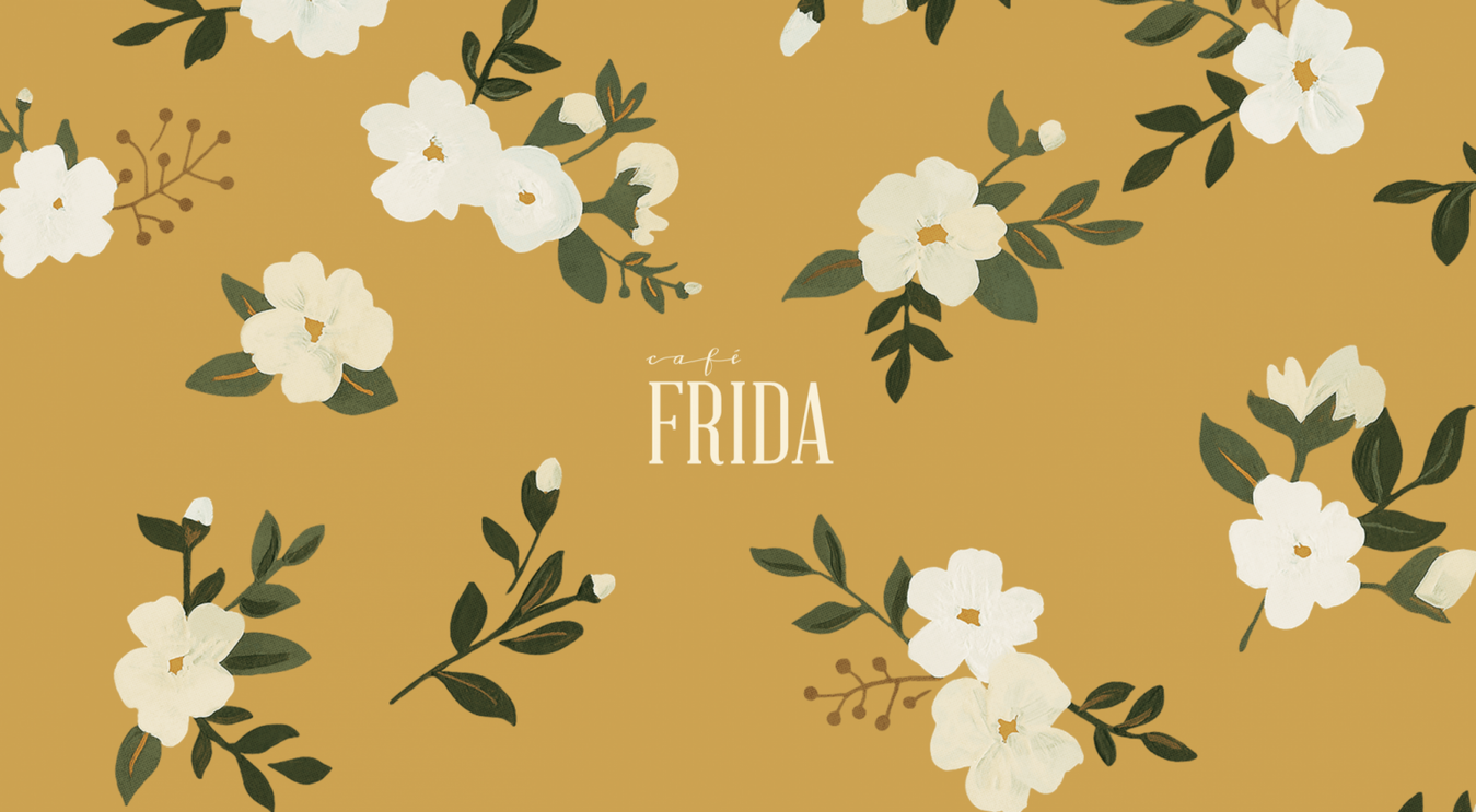 Landing page Cafe Frida