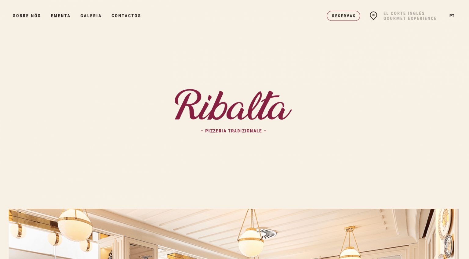 Landing page Ribalta