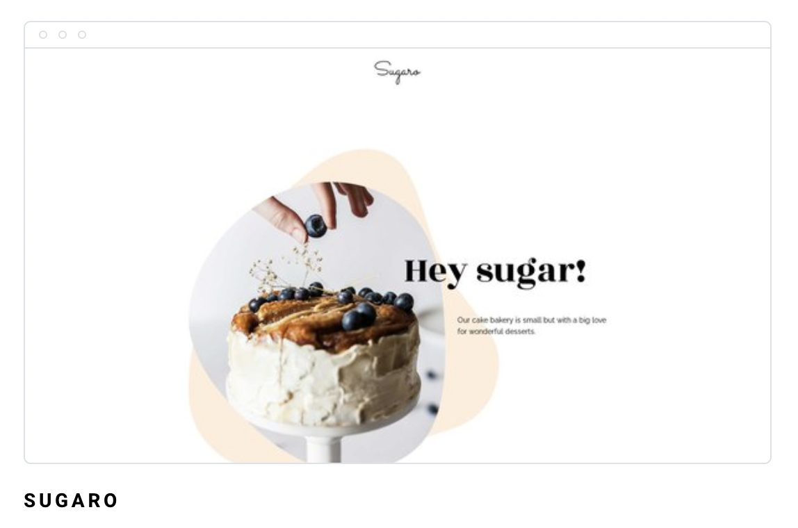 Landing page di Sugaro