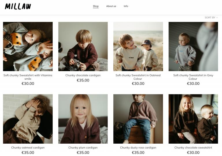Negozio online Millaw Kids
