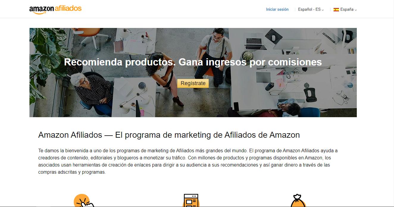 Ventajas del comercio electrónico: Programa de afiliados de Amazon